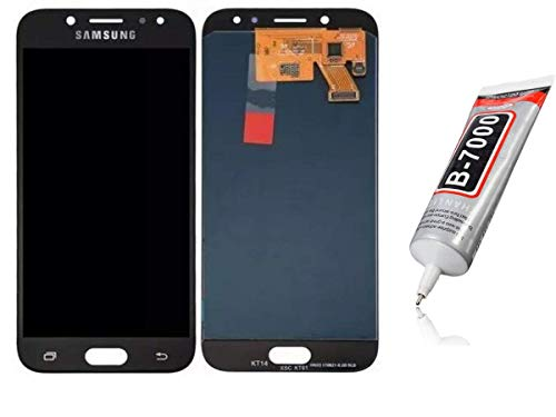 Kit Tela Display Lcd Touch Screen Galaxy J5 Pro J530 Preto + Cola Adesiva Multiuso Zhan Lida B7000 100ml
