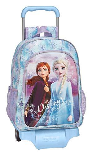 Safta Frozen II - Mochila Escolar Grande con Carro, Única