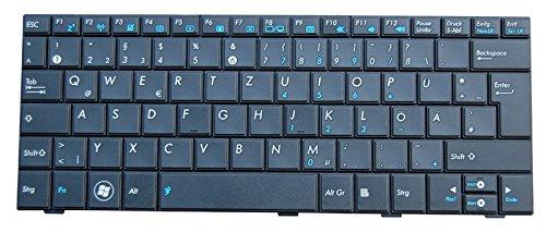 NExpert Orig. deutsche QWERTZ Tastatur für ASUS Eee PC R101 R101D R105 R105D Serie DE Schwarz Neu