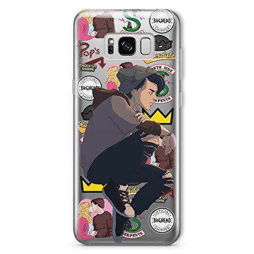 Jughead Jones Phone Case For Samsung Galaxy S21 S10 5G FE S9 S8 Note 20 10 Plus S20 Ultra S10e S7 S6 Edge Plus Note 9 8 Southside Serpents Pops Chocklit Shoppe Gifts Fan Fandom Silicone Cover