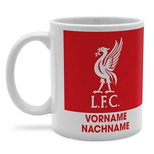 PhotoFancy Tasse Liverpool mit Namen personalisiert - Design Liverpool FC Bold Crest