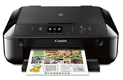 Canon MG5720 Wireless All-In-One Printer with Scanner and Copier: Mobile and...