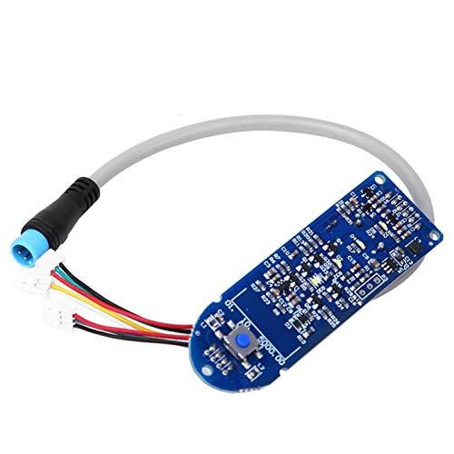 DAUERHAFT Accesorio de reemplazo de aplicación sincrónica de Calidad Duradera con Placa Bluetooth para Scooter eléctrico, para Scooter eléctrico Modelo de Copia