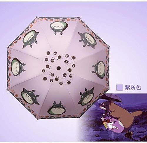 MVBGLK-Handleiding Mijn Buurman Totoro Paraplu Vinyl Zonnebrandcrème zon Paraplu Cartoon Animatie Spel Paraplu