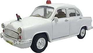Centy Toy Door Openable Plastic Ambassador Vip Car (White)