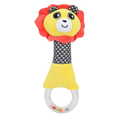 Why Should You Buy Rattle Ring Bell, Cotton Developmental Toys Hand Grasp Toy, for Newborn for Infan...