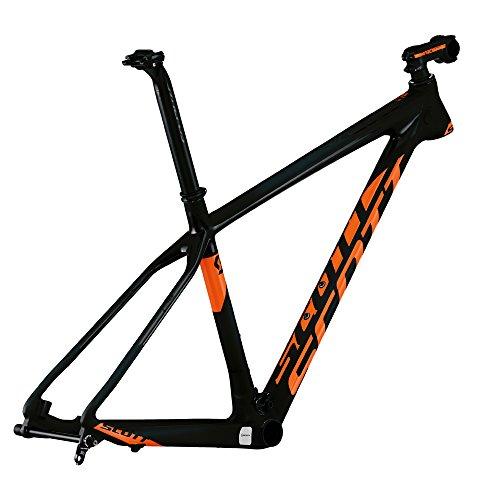 Scott Scale 700 SL MTB Carbon Rahmen schwarz/orange 2015: Größe: S