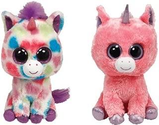 Ty Magic & Wishful Beanie Boos Unicorns Set of 2 Plush Toys