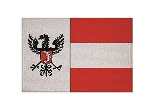 U24 Aufnäher Gengenbach Fahne Flagge Aufbügler Patch 9 x 6 cm
