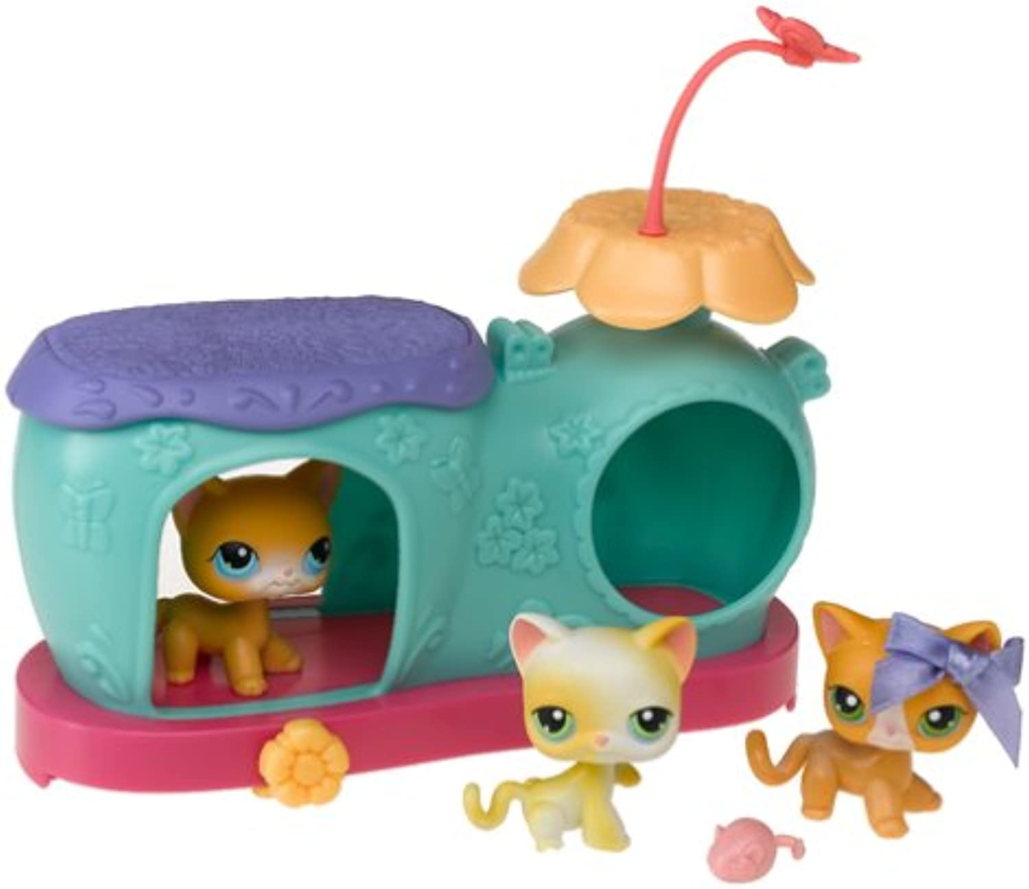 Littlest Pet Shop Multiples by Hasbro (Style=50154 Curious Kittens)