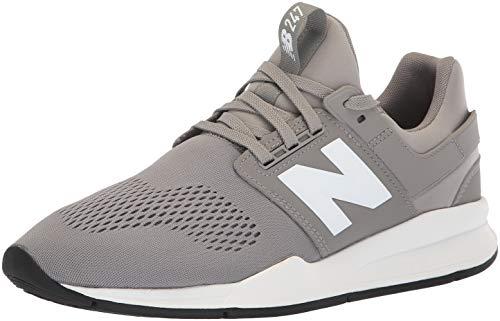 New Balance Men's 247 V2 Sneaker, Marblehead/White, 10.5