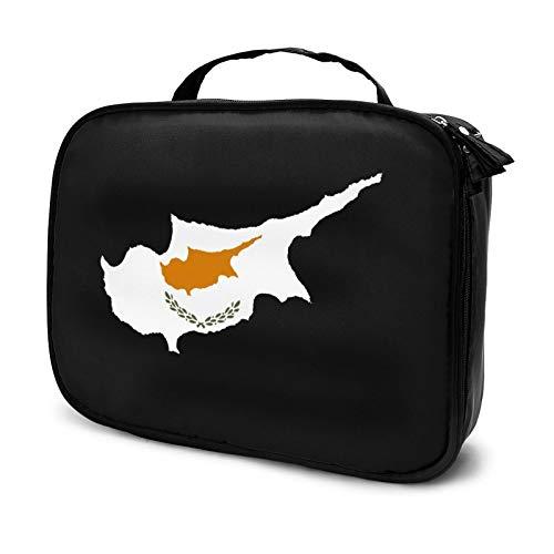 Bolsa de maquillaje de Chipre Organizador de cosméticos Nec