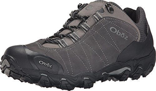 Oboz Bridger Low B-Dry Hiking Shoe - Men's Dark Shadow 14 Wide