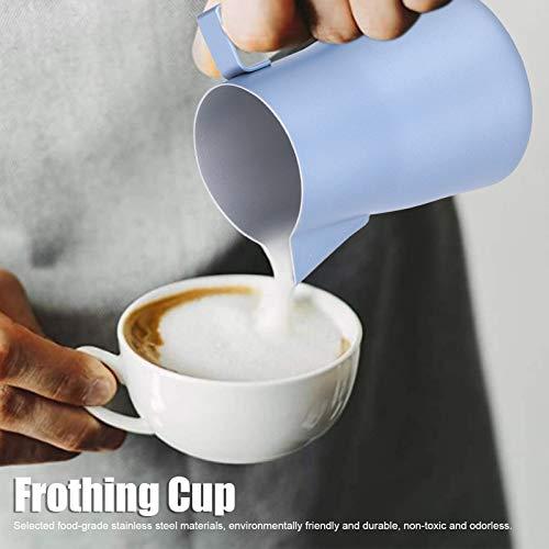 Schuimend Kop, 304 Roestvrij Staal Gemaakt Melk Schuim Temperatuur Huis Keuken Melk Folder Werper voor Huis Koffie Gebruik