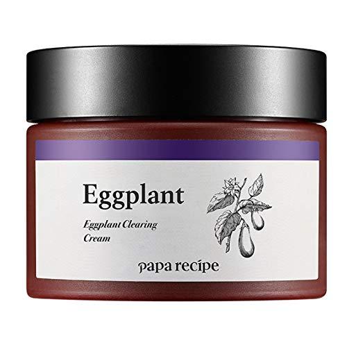 Papa Recipe Eggplant Clearing Cream, Korean Skin Care, Moisturizing Cream for Sensitive, 1.69 Ounce