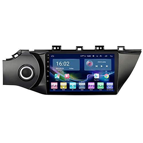 TIANDAO Android 9.1 Car Radio Satellite GPS Navigator FM Am Pantalla táctil Control del Volante Soporte Bluetooth WiFi USB SD Player Adecuado para Kia RIO3 K2 2016-2018(Color:WiFi 1G+16G)
