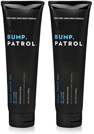 Bump Patrol Cool Shave Gel 4oz Tube (Sensitive)