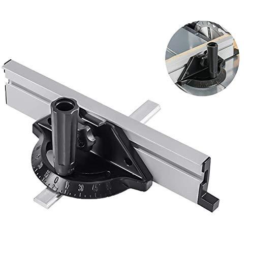 Accesorio para sistema de valla de calibre de ingletes, herramientas de carpintería...