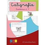 Caligrafía Montessori Cuaderno 7 [Español]: Caligrafía Educación Primaria (Caligrafia Montessori Niños 6 a 7 años)