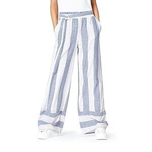 Marca Amazon - find. Pantalones de Rayas para Mujer | DeHippies.com