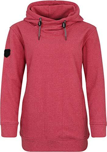Linea Primero Alberta - Sudadera con capucha para mujer rojo oscuro 46