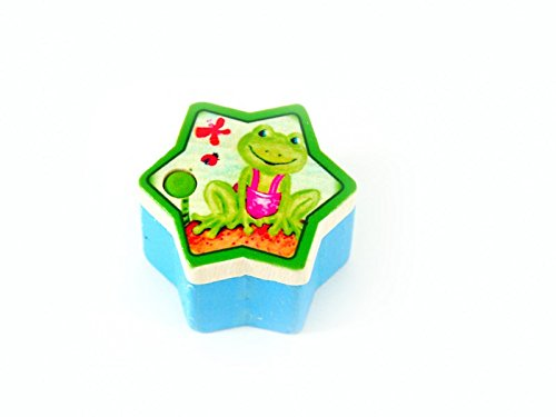 Hess Mobile en bois pour chambre d'enfant Motif grenouille