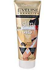 Eveline Slim Extreme 4D Slimming and Shaping Gold Serum Anti Cellulite, 250 ml