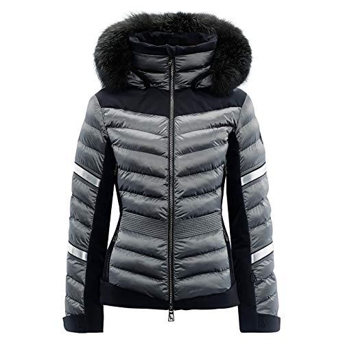 Toni Sailer W Madita Splendid Fur Grau, Damen Isolationsjacke, Größe 42 - Farbe Iron Grey