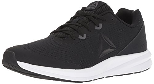 Reebok Men's Runner 3.0 Running Shoe, Black/ash Grey/White/Pewter, 10 M US