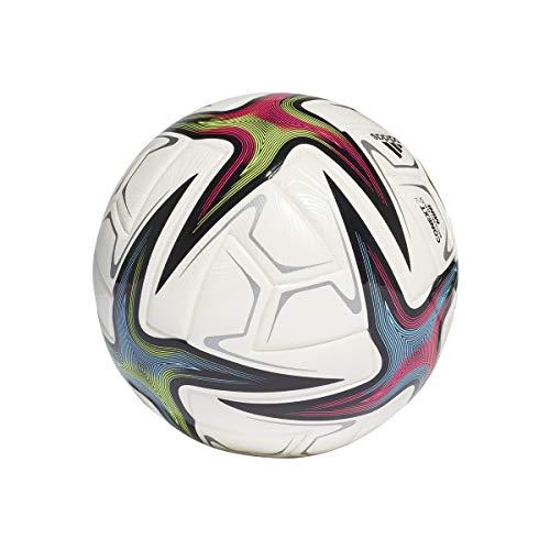 adidas EKSTRAKLASA MIN Balón, Hombres, Blanco/Negro/ROSSHO/VERSEN (Multicolor), 1