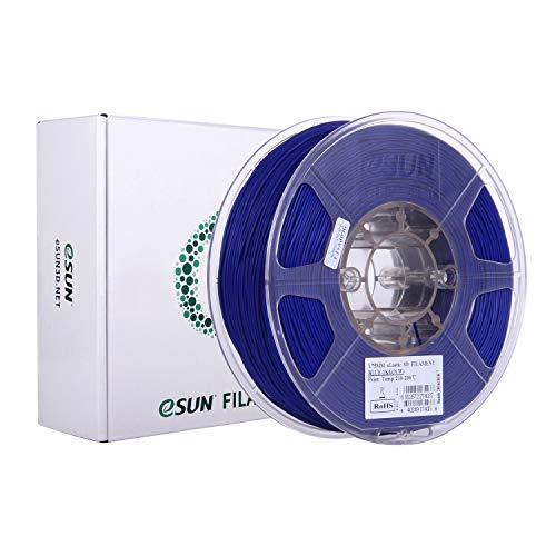 eSUN Flexible TPE Filament 1.75mm, 3D Printer Filament TPE-83A, Dimensional Accuracy +/- 0.05mm, 1KG (2.2 LBS) Spool 3D Printing Filament for 3D Printers, Blue
