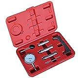 Einspritzpumpe Einstellwerkzeug Einstellen Messuhr Förderbeginn Dieselpumpe 7-teilig
