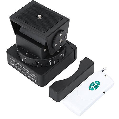 Entatial Motorisierter Kameraschwenk-Neigekopf mit Fernbedienung für Sony QX1L, QX30, QX10, QX100, AS15, AS100, WX300, WX350, PJ350E, HX20, WX220 und für Kameras