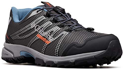 Columbia Montrail Men's Mountain Masochist IV Outdry Sneaker, Graphite/red Quartz, 7.5 Regular US