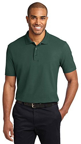 Port Authority Tall Stain-Resistant Polo Shirt, 3XLT, Dark Green
