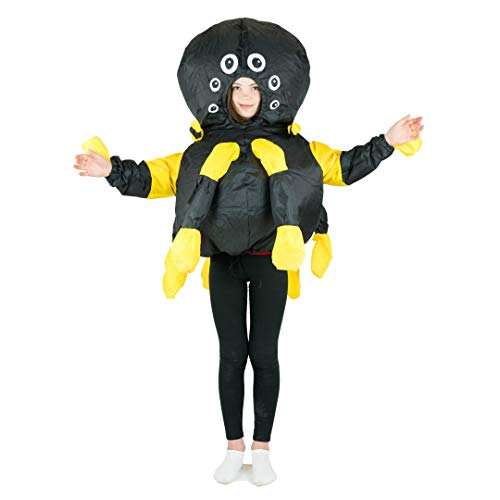 Bodysocks® Disfraz Hinchable de Araña Niño