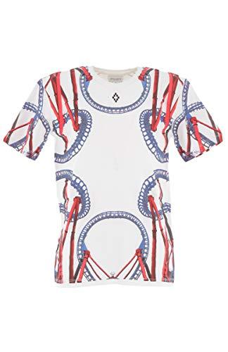 MARCELO BURLON KIDS OF MILAN T-Shirt Roller Coaster, Weiß 14 Jahre