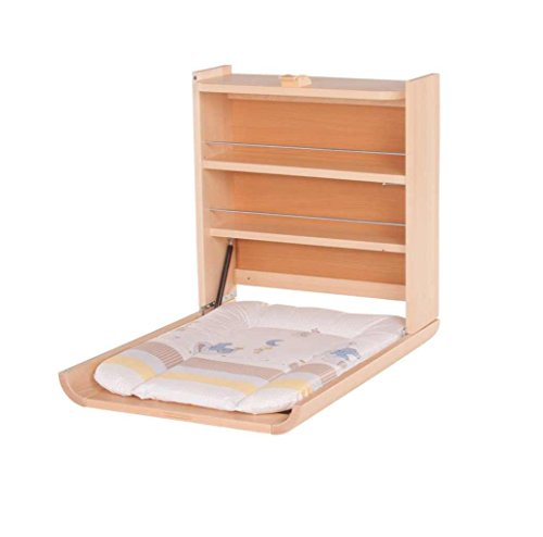 TABLE A LANGER MURALE WANDA NATURELLE MATELAS OURSON - Geuther