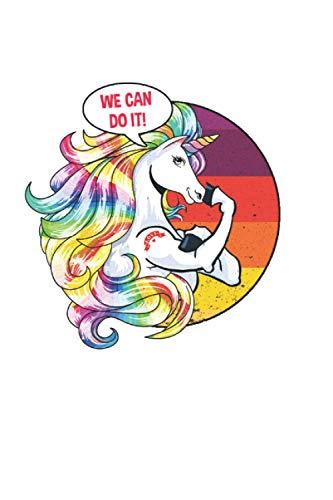 Mujeres Unicornio: Din A5 Cool Unicorn Notebook Regalo para adultos con 120 páginas