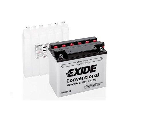 Preisvergleich Produktbild EXIDE Motorrad Batterie 12V 19Ah 190A YB16L-B