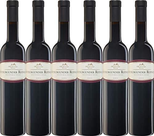 Oberkircher Winzer Vinum Nobile Spätburgunder Rotwein QbA 0,5L 2018 Trocken (6 x 0.5 l)