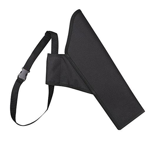 Toparchery Bogensporttaschen kinder Kindertaschen Köcher für Kinderpfeile schwarzer Kinderköcher Bogensport Bogenschießen