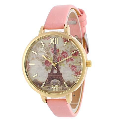 Meigold Damen Uhren Turm Blume Uhren Schönes Schmuck Valentinstag Geburtstagsgeschenk