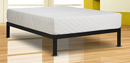 Wolf Composure Wrapped Coil and Latex Hybrid Mattress and Platform Set, Queen