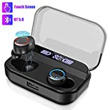 Wireless Earbuds,Bluetooth 5.0 in-Ear Earbuds with LED Display 4000mAh Charging Case,Stereo HiFi Sound