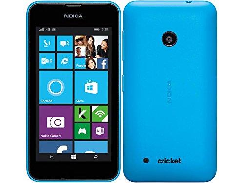 Nokia Lumia 530 Windows Smartphone (Cricket) No Contract - Blue