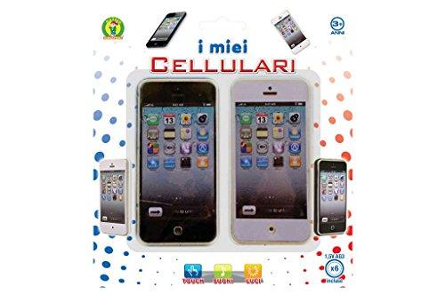 Mazzeo Giocattoli Set telefoni Smartphone per Bambini
