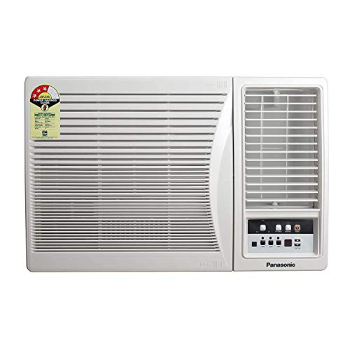 Panasonic 1.5 Ton 3 Star Window AC (Copper, PM 2.5 Filter, 2020 Model, CW-LC183AM White)