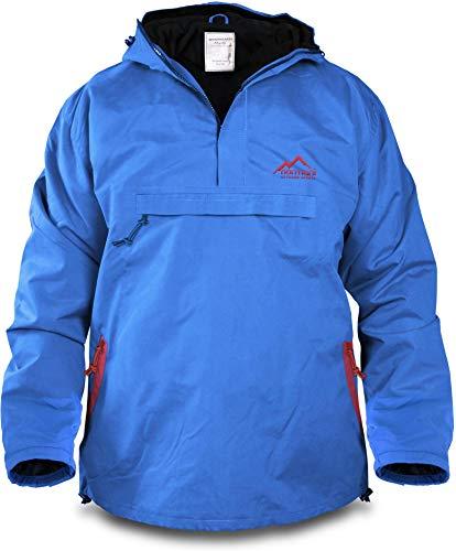 normani Winddichte Funktions-Jacke für Damen und Herren von S-4XL Farbe Blue/Red Größe S