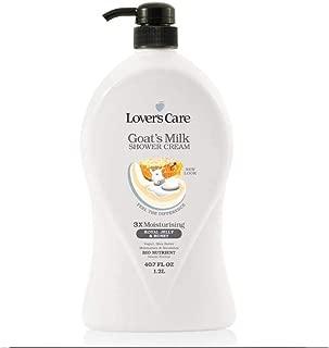 Lover's care goat's milk shower cream 40.7 oz (1200ml) Milk & Honey plus Bio Nutrient